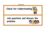 Math Center Mini Lesson Strategies (C)