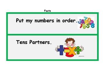Math Center Mini Lesson Strategies (F)