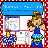 Math Center Missing Number Puzzles to 100. 1 & 10 more, 1