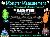 Math Center: Monster Measurement (NonStandard)