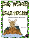 Multiplication File Folder Game 3s Times Tables Facts