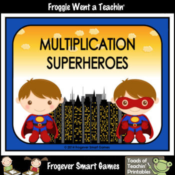 Multiplication--Multiplication Superheroes (boy version)