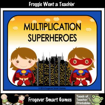 "Multiplication--""Multiplication Superheroes"" (girl version)"