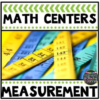 Math Center Non Standard Measurement