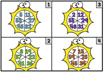 Math Center Number Order