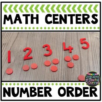 Math Center Number Order