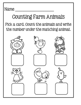 Count The Room ~ Farm Animals