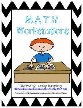 Math Center Organization System