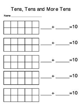 Math Center Packet