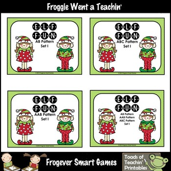 "Patterns--Patterning Christmas Puzzles ""Elf Fun"""