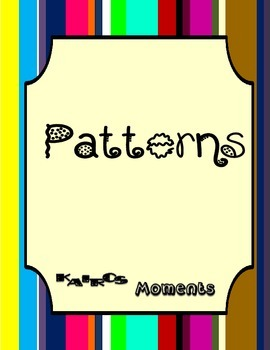 Math Center:  Patterns