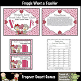 Valentine's Day--Penguin Love Scoot into  Place Value