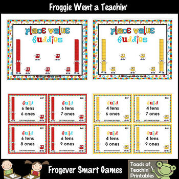 Place Value--Place Value Buddies (use with Base Ten Blocks)