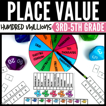 Math Center - Place Value to Hundred Millions
