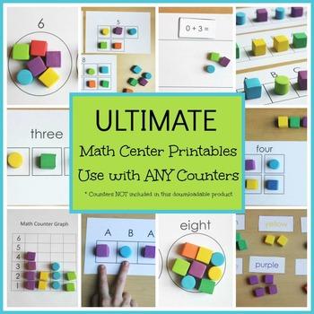Math Center Printables