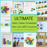 Math Center Printables