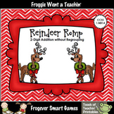 "2 Digit Addition Without Regrouping -- ""Reindeer Romp"""
