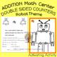Counting Mats Math Center Robot Theme