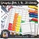 Math Center: Roll, Count & Graph, Butterfly, Spring, Bugs {Prek-1}