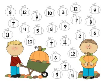 Math Center: Roll and Color with a Partner