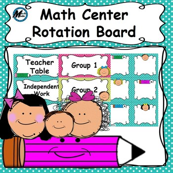 Math Center Rotation Board 2