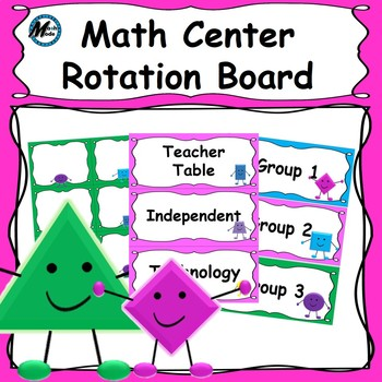 Math Center Rotation Board 3