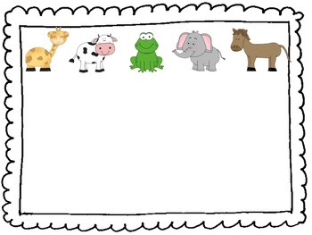 Math Center Rotation Cards {Animal Groups Included!!}