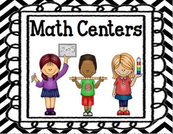 Math Center Rotation Chart