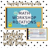 Math Center Rotation with Timer