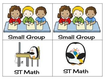 Math Center Rotations