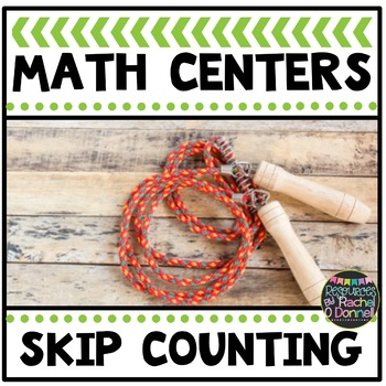 Math Center Skip Counting Freebie