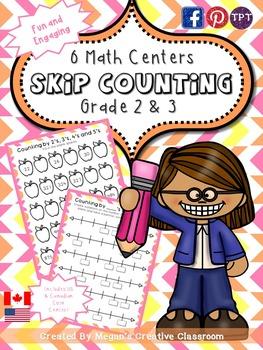 Math Center: Skip Counting {Grades 2-3}