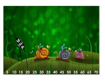 Math Center Skip Counting by 5's Trio of Activities