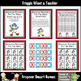 Math Center -- Snowmen Roundup (counting by 2's)