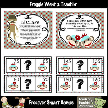 Skip Counting--Sock Monkeys Love to Count by Fives (between)