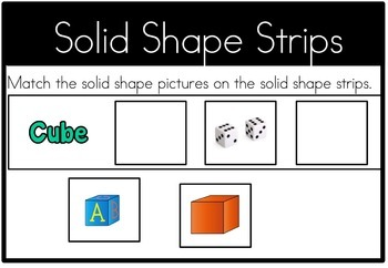 Math Center Solid Shape Attributes