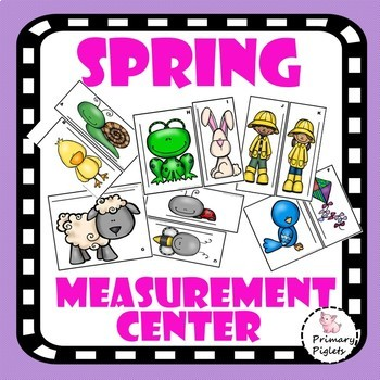 Measurement Center Spring  Set March April May