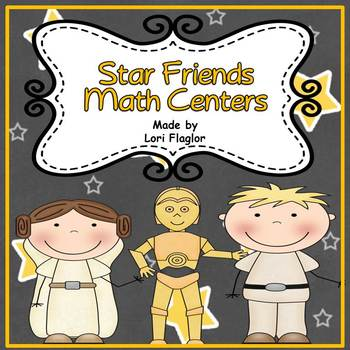 Math Center- Star Friends Theme