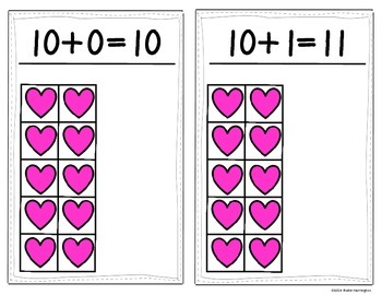 We Love Teen Numbers {Math Center or Station Activity} Print, Laminate & Write