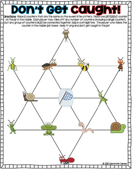 Math Center Strategy Games {Use All Year Long!}