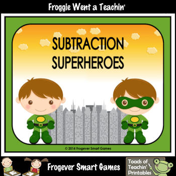 "Subtraction--""Subtraction Superheroes"""