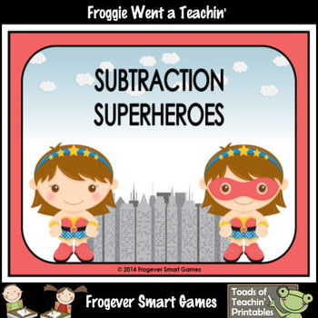 "Subtraction--""Subtraction Superheroes"" (girl version)"