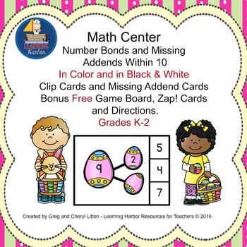 Number Bonds Easter
