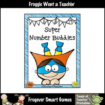 Math Center--Super Number Buddies (numbers from 1 to 20)