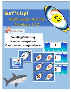 Math Center - Surf's Up! K-2