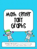 Math Center Tally Graphs