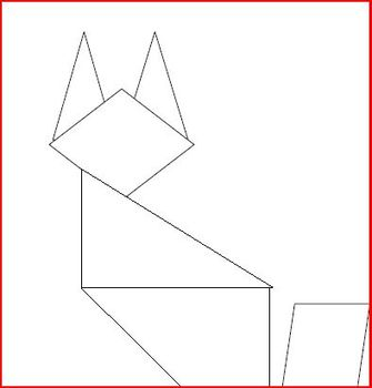 Math Center Tangram Fun