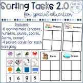 Math Center / Task Box: Sorting Activity