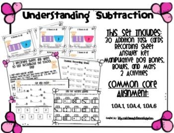 Understanding Subtraction Math Center