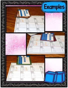 Math Center ~ Tens and Ones Task Cards